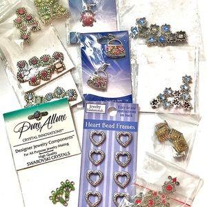 Lot of Beautiful New Beads + Bonus Gift!